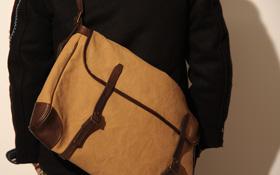vascoから『男は背中で語る』を思わせるショルダーバッグが入荷
