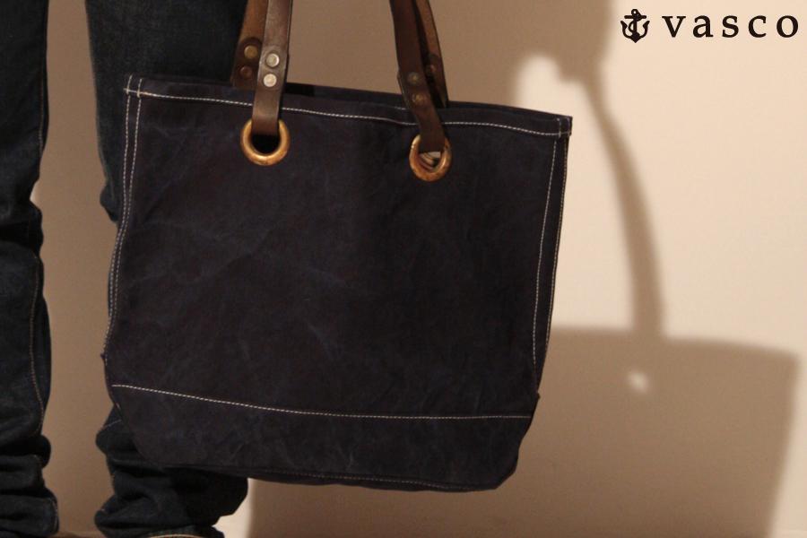 vascoからタウンユースに最適なサイズのトートバッグが届きました