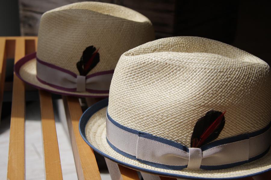 Mighty Shine パナマ素材を使った新作の麦わら帽が入荷です
